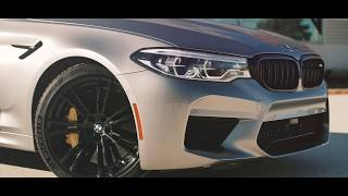 ** The 2019 BMW M5 Competition **