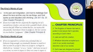 2020_1210 PWAM Bible Study: Kingdom Principles - Chapter 8 - KINGDOM LAW - Part 2
