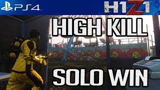 H1Z1 PS4: Getting High Kill DUBS! H1Z1 PS4 SEASON 2 GAMEPLAY
