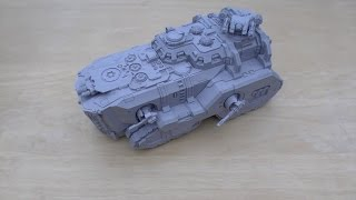 Space Marine Mastodon   Review WH40K