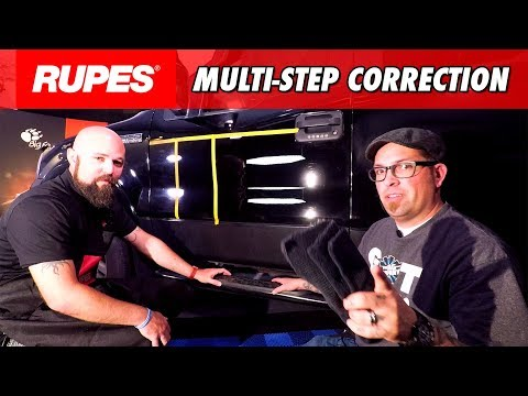 RUPES Paint Correction on THRASHED Black Paint | DETAILS WITH LEVI
