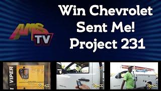 Win Chevrolet Sent Me! Project 231