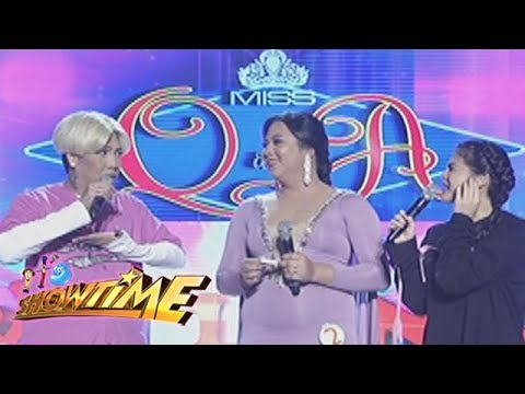 It's Showtime Miss Q & A: Vice shares his childhood memories