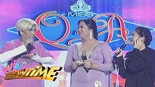 Video It's Showtime Miss Q & A: Vice shares his childhood memories download MP3, 3GP, MP4, WEBM, AVI, FLV September 2017
