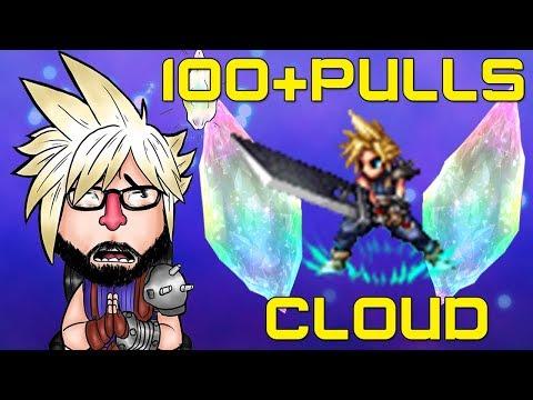 Final fantasy brave exvius: 100+Summon/Buscando a Cloud
