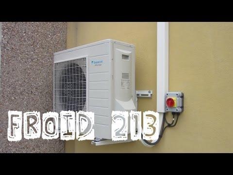 Froid213-Le montage et la mise en service de mon 1er monosplit-retour d'expérience