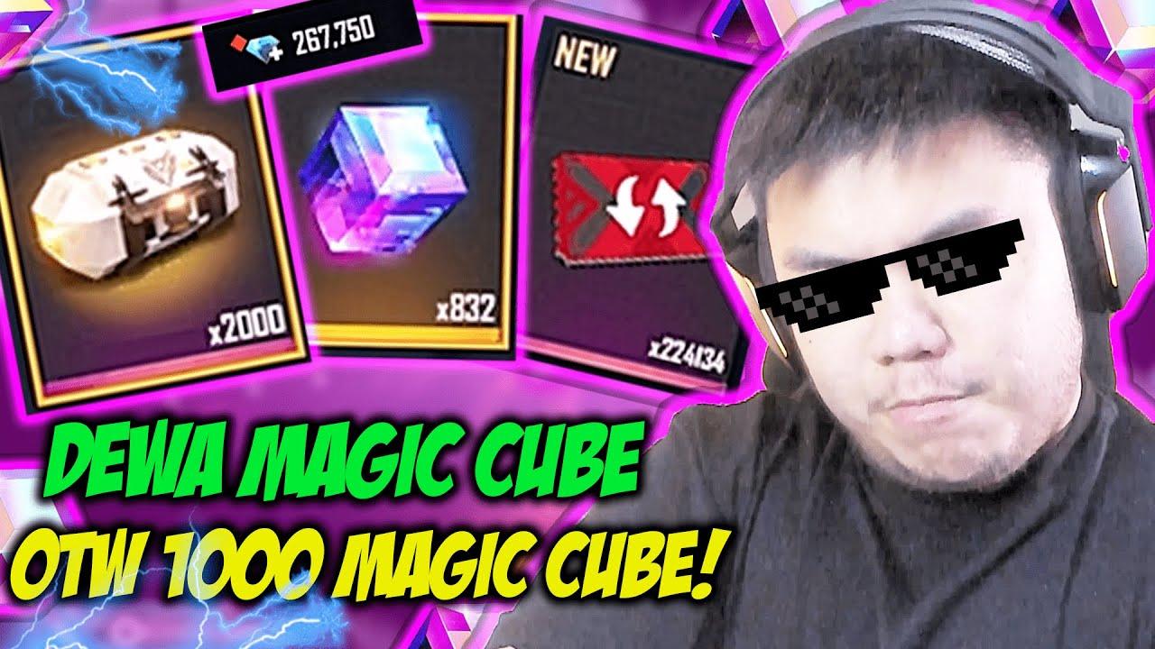 DAPET 833 MAGIC CUBE! DARI 2000 BOX MAGIC CUBE BONGKAR SEMUA!!