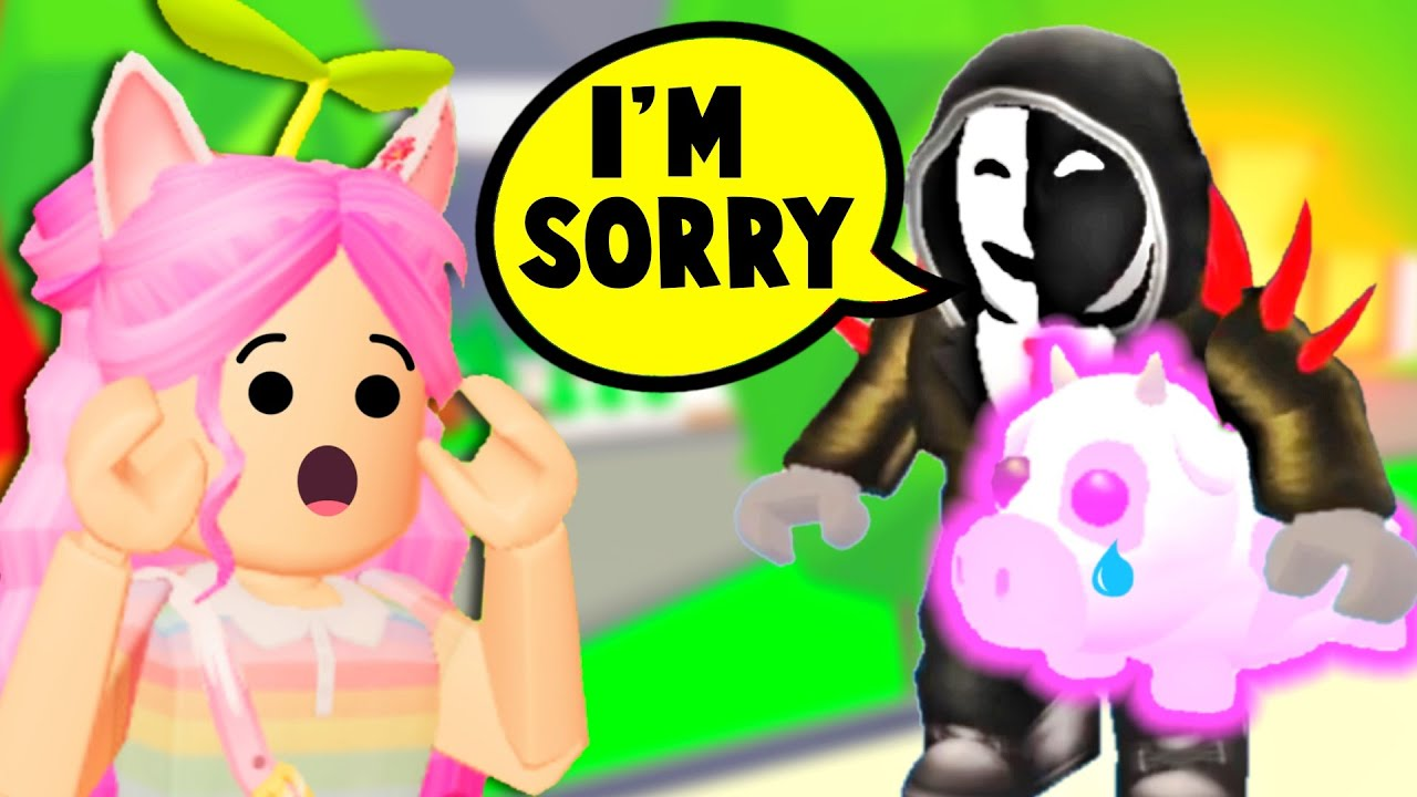 WE TURNED a *HUGE* TT SCAMMER GOOD AGAIN! Surprising SCAMMER with DREAM PET in Adopt Me Roblox