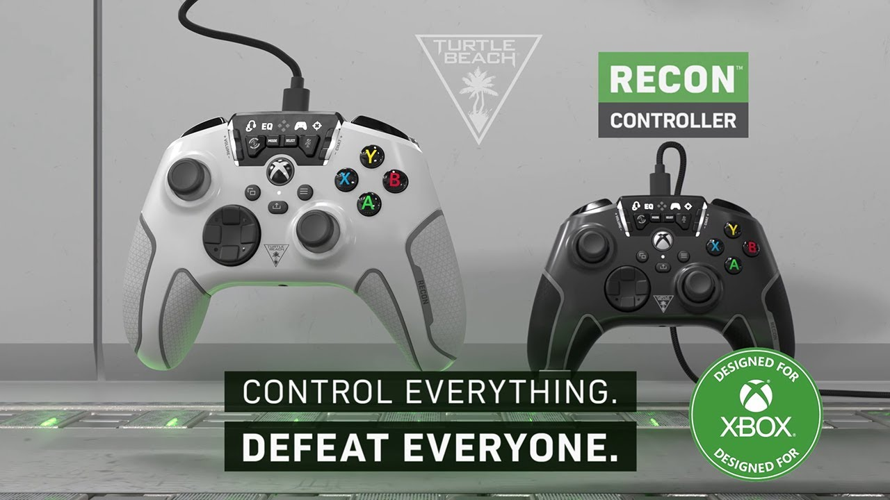 Turtle Beach® Recon™ Controller Wired Game Controller for Xbox Series X|S & Xbox One - YouTube