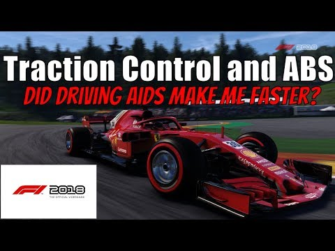F1 2018 - Traction Control and ABS On/Off...