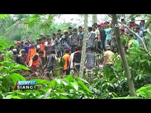 Update Longsor di Jember: 1 Keluarga Masih Belum Ditemukan