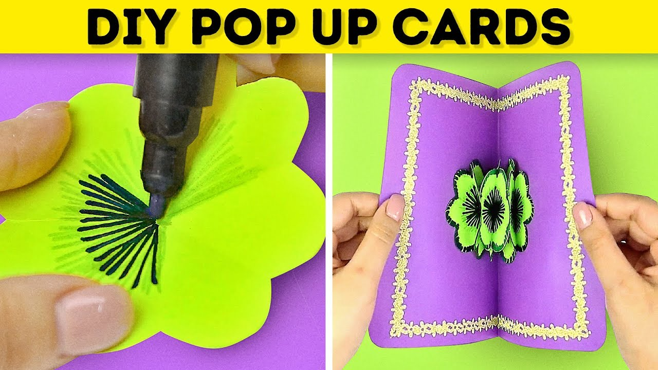 My Collection Harmony 18 Simple Diy Pop Up Cards