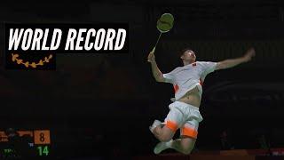 15 Fastest Badminton Smashes - updated 31 Dec '17
