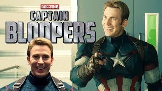 Gags War   Chris Evans is Captain of the Bloopers