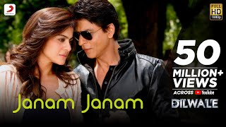 Janam Janam – Dilwale | Shah Rukh Khan | Kajol | Pritam | SRK Kajol Official New Song Video 2015(Some love stories never end… They transcend time and last longer than just a lifetime! After the blockbuster Gerua, we bring you Janam Janam from the much ..., 2015-12-03T10:30:01.000Z)