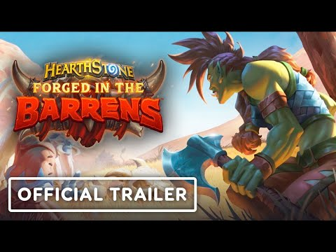 Hearthstone: Forged in the Barrens - Official Reveal Trailer | BlizzConline 2021