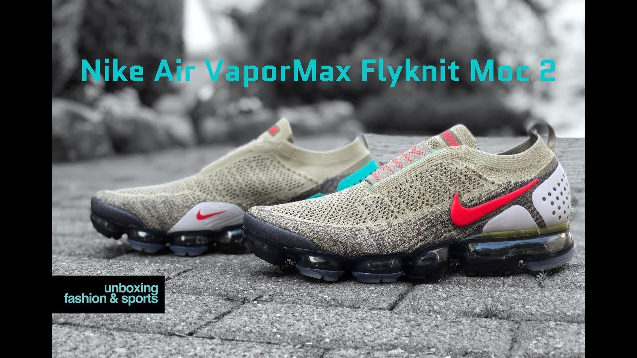 99e05e09486d6 Nike Vapormax FK MOC 2  Olive Dark Hazel Habanero Red