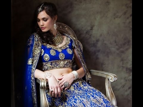 194d8caeb3 Royal Blue Pakistani Bridal Collection 2017 By Aletere.com. Aletere Style