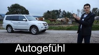 Mitsubishi Pajero Montero Edition 30 test drive review onroad offroad - Autogefühl