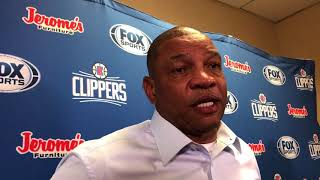 Clippers coach Doc Rivers on Cavs slow start