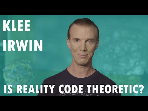 Is Reality Code Theoretic? by Klee Irwin