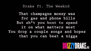 Drake ft. The Weeknd - The Ride Lyrics [VIDEO]