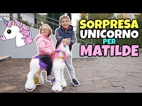 SORPRESA UNICORNO 🦄 Cavalcabile per Matilde