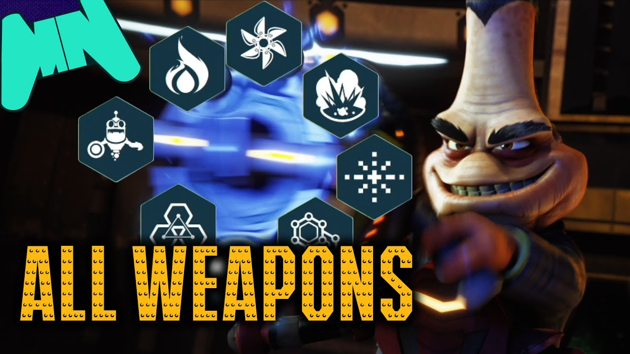 Ratchet And Clank Ps4 All Weapons Showcase Youtube