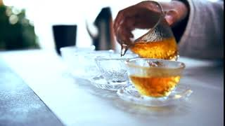 Minimalist Japanese Style Teacup, Japanese Glass Teacup