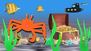 The Adventures Of Crab 1-11. Funny cartoons for children.