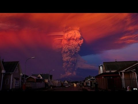 5 AMAZING UFO / OVNI Video's from Witnesses at Calbuco Volcano!!