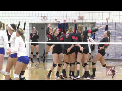 GNAC VOLLEYBALL 1ST PLACE NNU VS UAF 11-05-2015