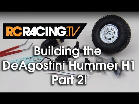 DeAgostini Kyosho Hummer Build - Part 2 - Steps 3 & 4!