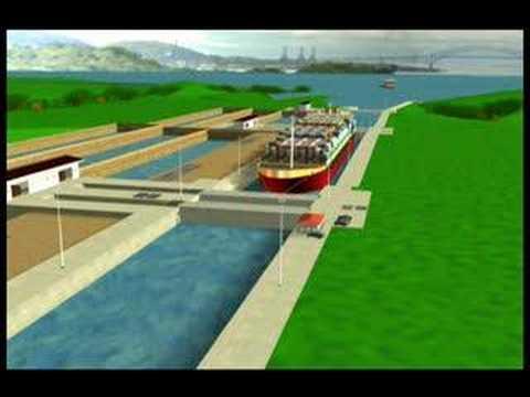 Panama Canal Expansion - Locks Concept