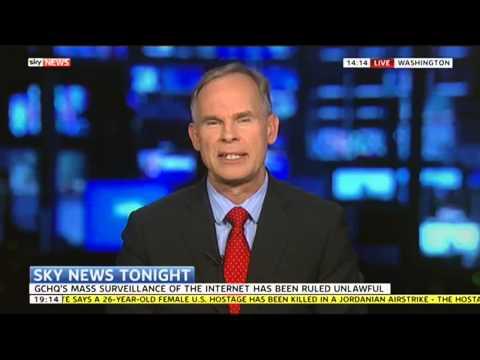 Sky News Tonight Looks At GCHQ's Troubles