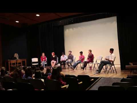 Bell Schedule Forum: March 23, 2017, Gunn High School Little Theater