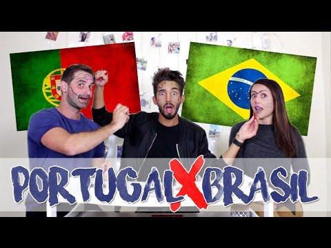 PORTUGAL X BRASIL: DIFERENÇAS c/ Travel and Share