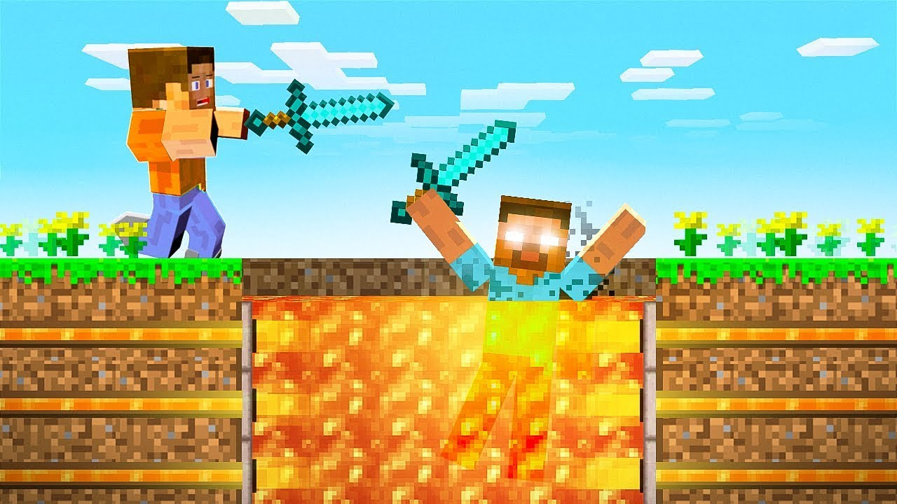 Ich habe HEROBRINE mit einer geheimen FALLE in Minecraft gefangen! + video