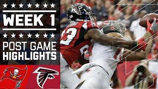 Buccaneers vs. Falcons | NFL Week 1 Game Highlights