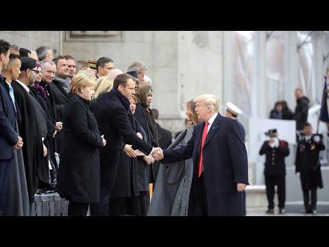 Trump aponta baterias contra Emmanuel Macron