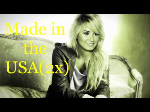 Demi Lovato-Made In The USA-Lyrics