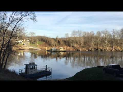 Turkey Neck Bend Ferry, McMillin's Landing, Cumberland River, Monroe County, KY