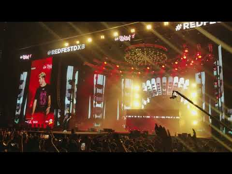 Chainsmokers Sick Boy and Honest Live at RedFestDXB 2018 in Dubai