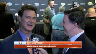 Don Mattingly likes makeup of Miami Marlins roster