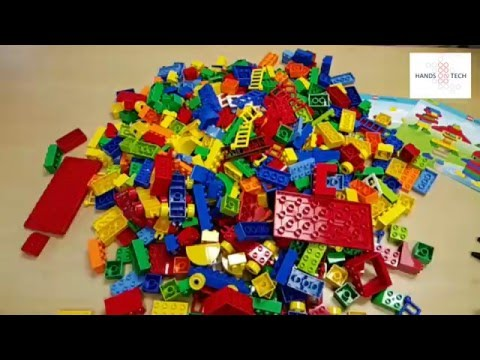 LEGO Education XL DUPLO Set - What does 560 bricks look like ...