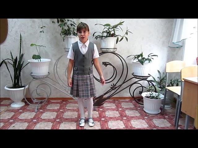 Изображение предпросмотра прочтения – ВикторияКолбасова читает произведение «В классе» М.И.Цветаевой