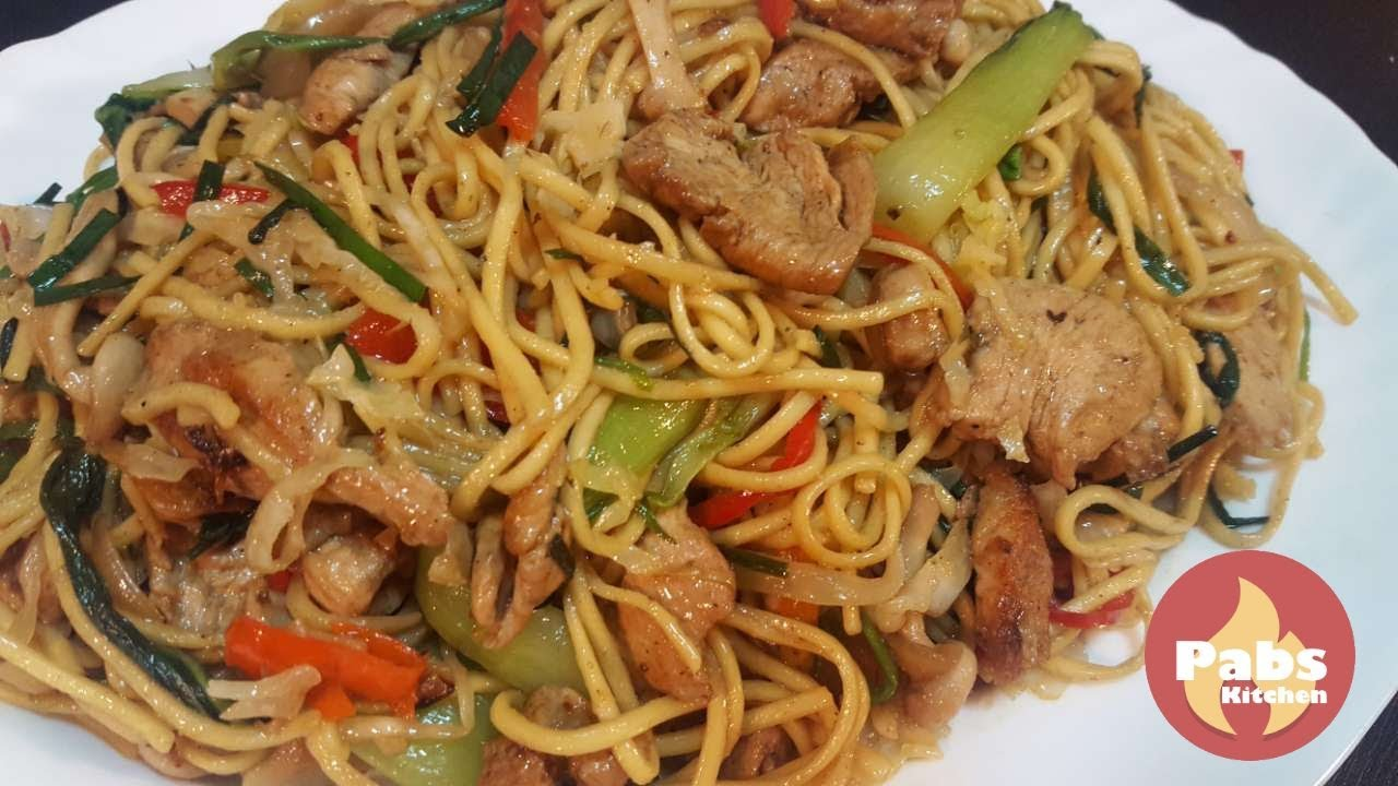 Chicken chow mein nepalese style pabs kitchen youtube chicken chow mein nepalese style pabs kitchen forumfinder Image collections