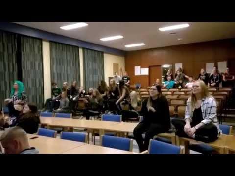Karaoke songbattle med Grindsted Landbrugsskole og TronsøSkolen