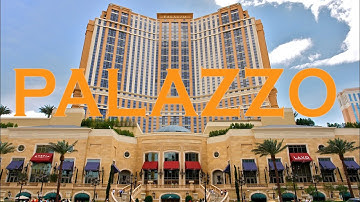 Palazzo Las Vegas Hotel Casino & Grand Canal Shoppes Walkthrough 2019 4K
