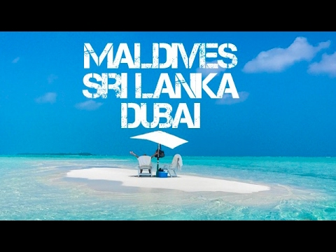 New Year trip to MALDIVES, SRI LANKA & DUBAI (one month backpacking travel)